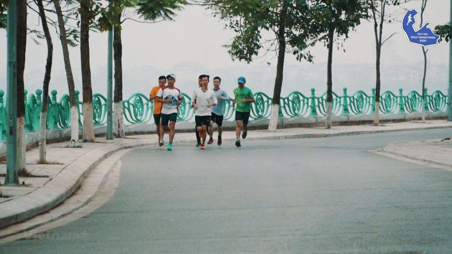 Nhiều nhà vô địch SEA Games 30 dự giải Tay Ho Half Marathon 2020