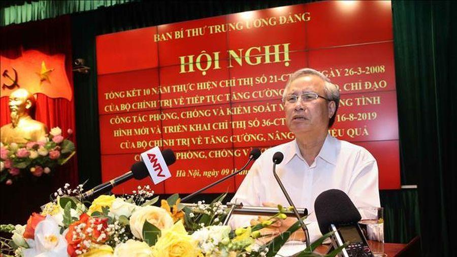 Đồng chí Trần Quốc Vượng: Phòng, chống ma túy cần sự vào cuộc đồng bộ, quyết liệt