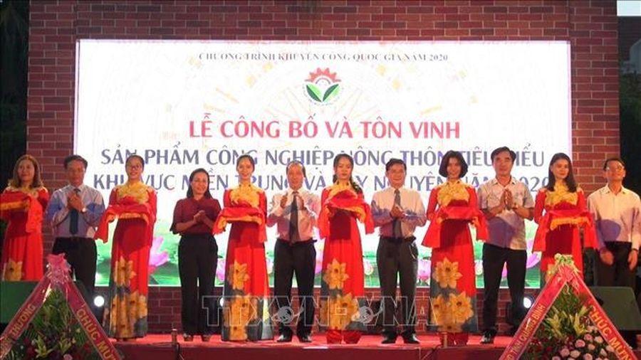 Hội chợ triển lãm hàng công nghiệp nông thôn khu vực miền Trung-Tây Nguyên