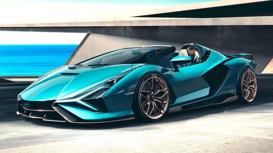 Lamborghini ra mắt siêu xe Sian Roadster siêu mạnh, siêu hiếm