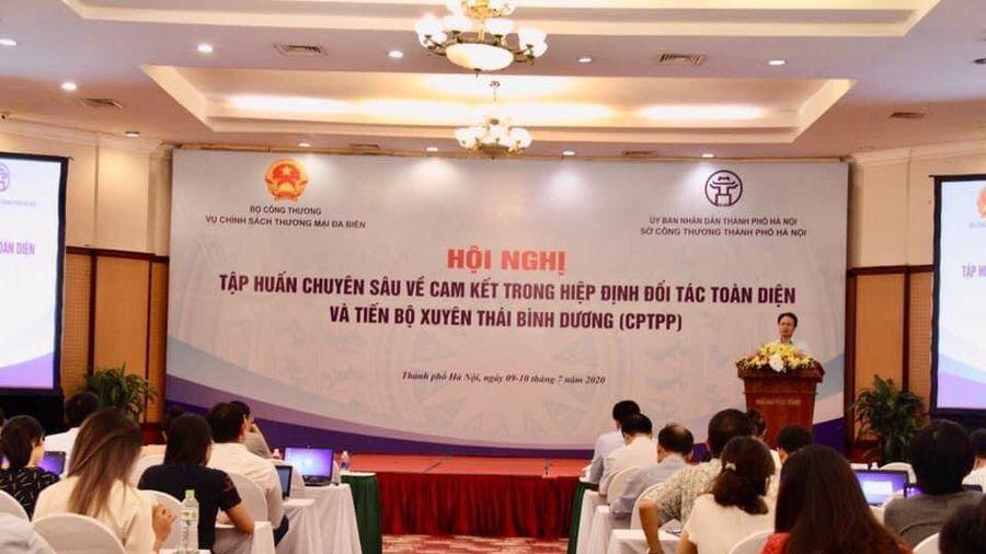 Tập huấn chuyên sâu về cam kết hiệp định CPTPP