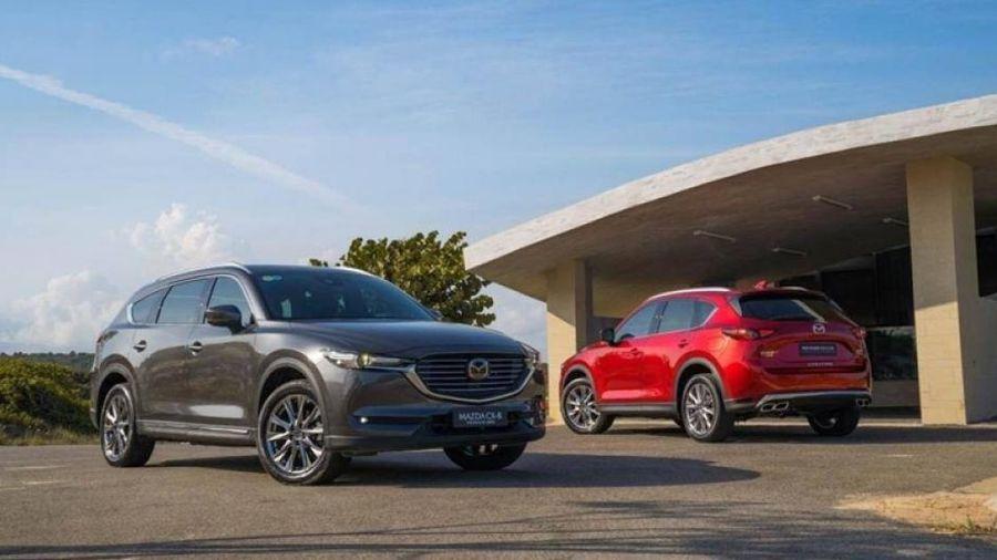 THACO giảm giá đồng loạt các mẫu xe: Mazda CX-8 giảm tới 200 triệu