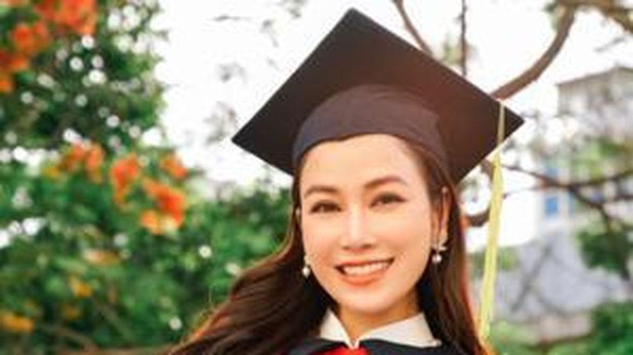 Hoa hậu Áo dài Tuyết Nga xuất sắc đỗ tốt nghiệp Học viện âm nhạc quốc gia với số điểm cao 'ngất ngưỡng'