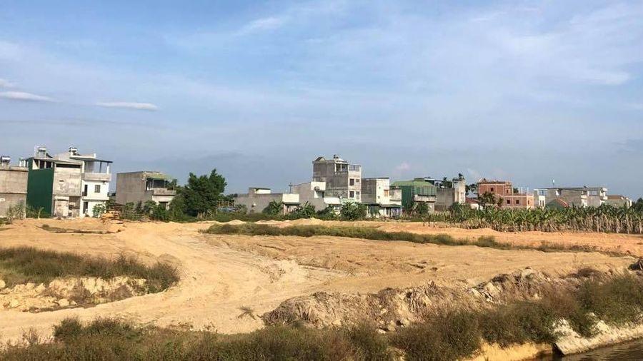 Quảng Ngãi: Sở Xây dựng khẳng định Công ty Lũng lô 251 đổ đất là sai quy định