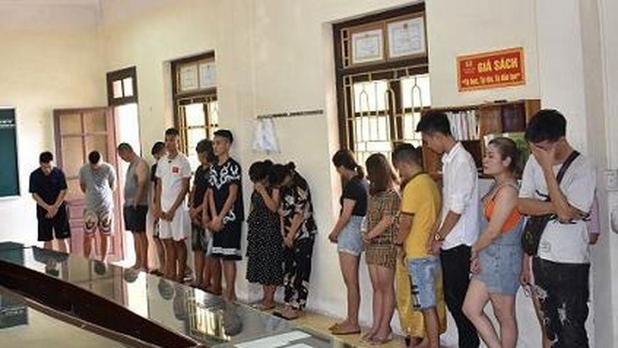 Ninh Bình: Tổ chức sử dụng ma túy tập thể trong quán karaoke