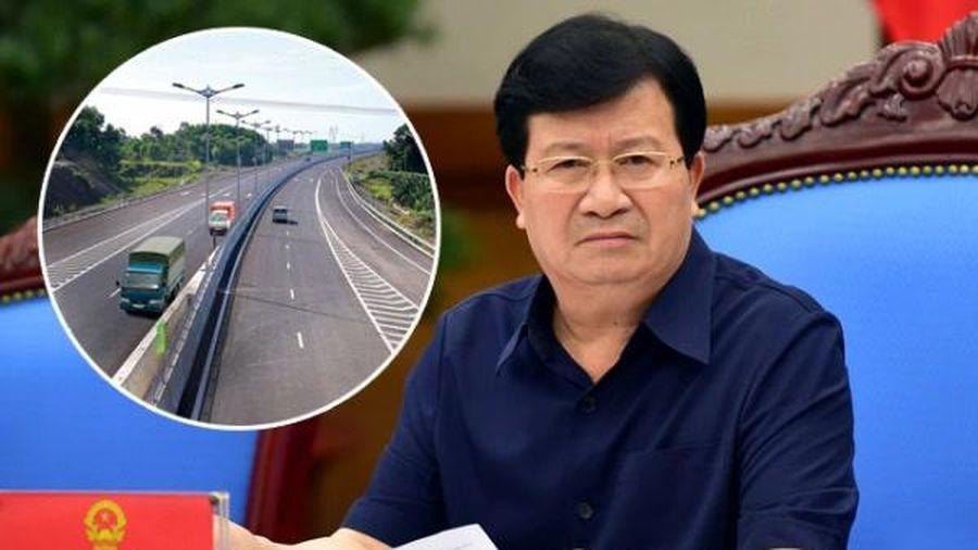 Phó thủ tướng nhắc Bộ GTVT lựa chọn nhà đầu tư cao tốc Bắc - Nam đúng quy định