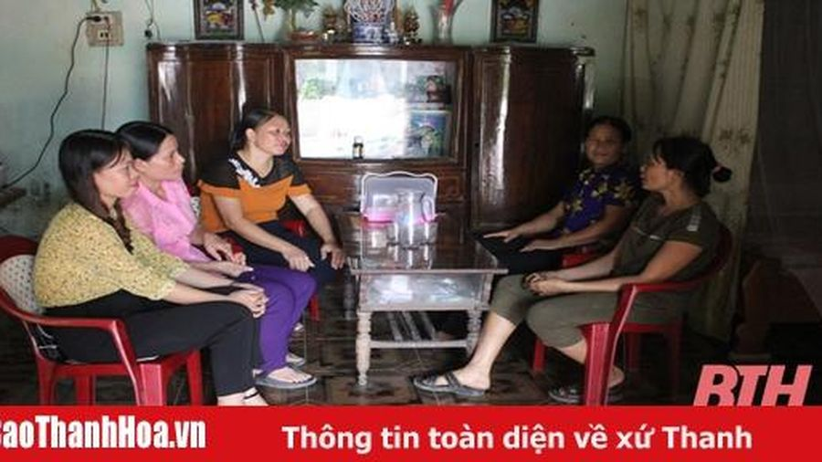 Huyện Thọ Xuân đẩy mạnh công tác phòng, chống bạo lực gia đình
