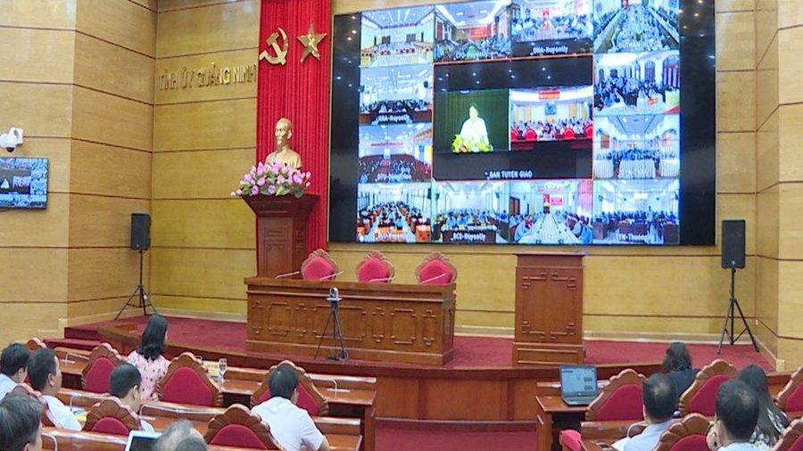 Hội nghị trực tuyến báo cáo viên Trung ương