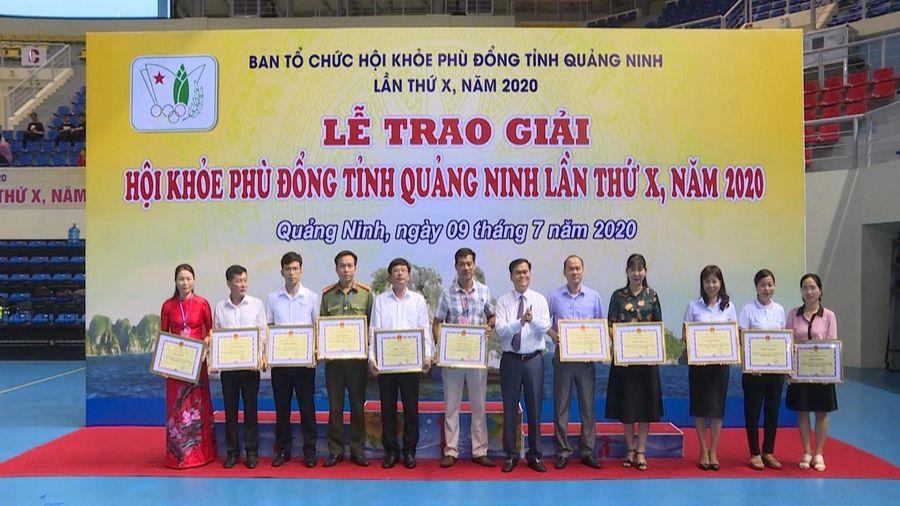 Bế mạc HKPĐ tỉnh Quảng Ninh lần thứ X, năm 2020