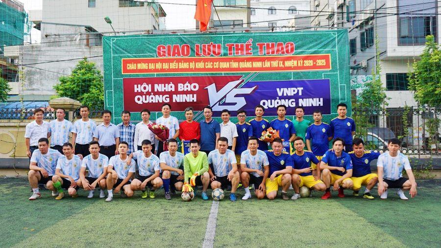 Giao lưu thể thao chào mừng Đại hội Đại biểu Đảng bộ Khối các cơ quan tỉnh