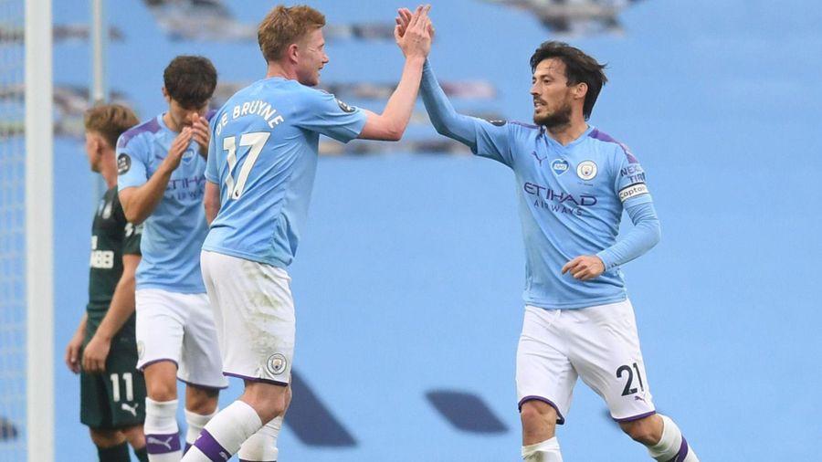 Vòng 34 Ngoại hạng Anh: Liverpool và Man City 'ca khúc khải hoàn'