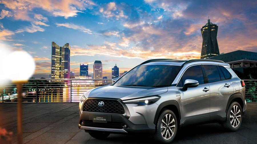 Hình ảnh chi tiết Toyota Corolla Cross 2021
