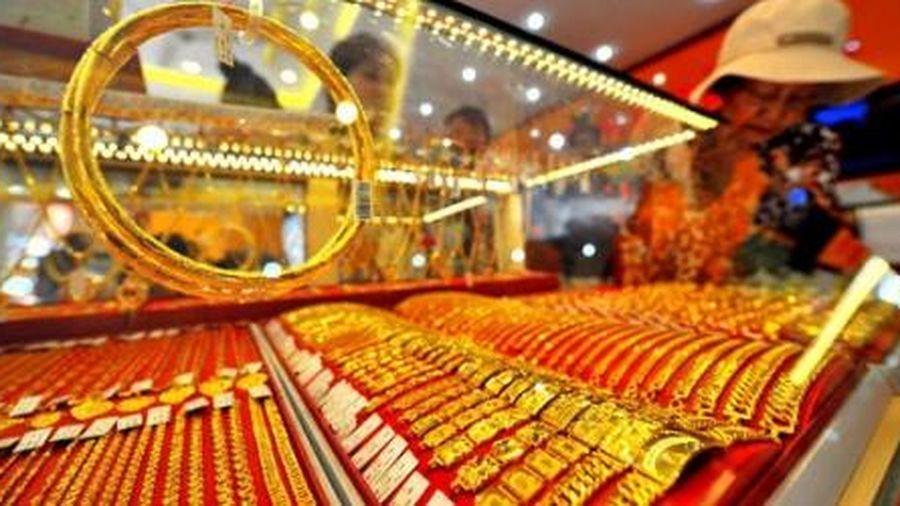 Vàng chưa ngưng đà tăng, cao nhất 50,55 triệu đồng/lượng