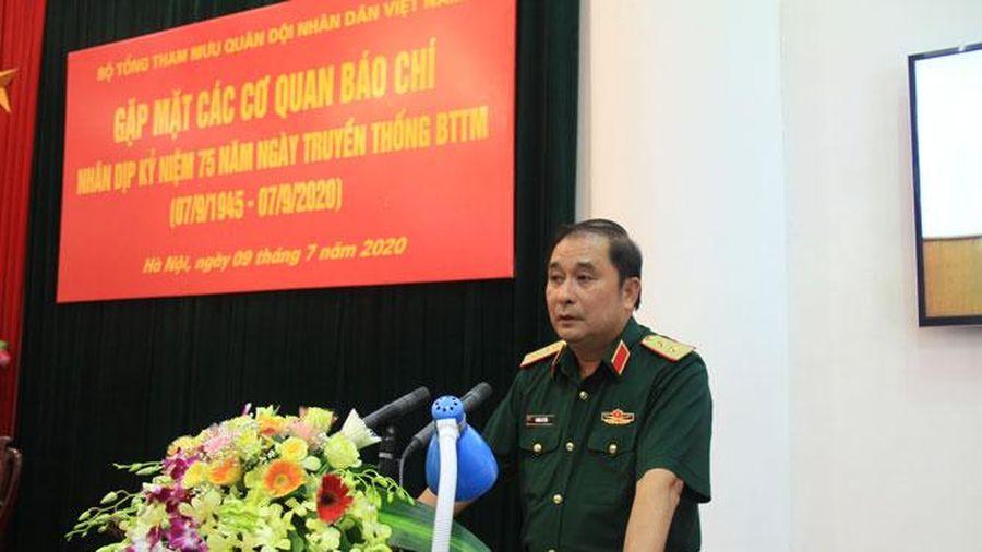 Nhiều hoạt động kỷ niệm 75 năm Ngày thành lập Bộ Tổng tham mưu Bộ Quốc phòng