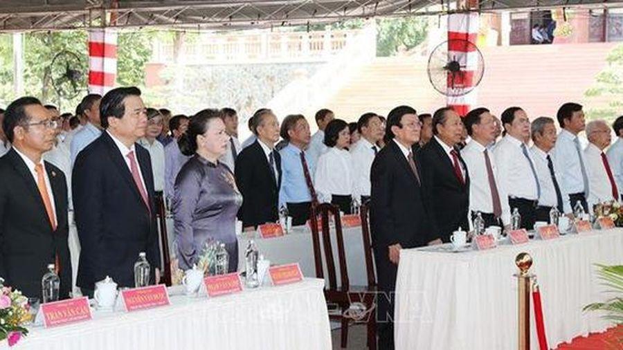 Long trọng tổ chức Lễ kỷ niệm 110 năm nguyên Chủ tịch Quốc hội Nguyễn Hữu Thọ