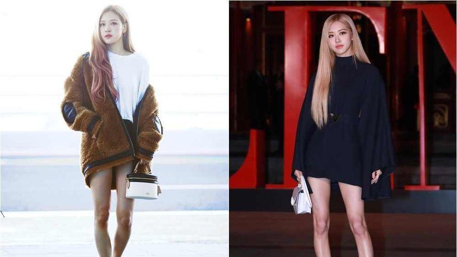 Không chỉ Yoona, đến lượt Rosé cũng có siêu năng lực biến chân vòng kiềng thành chân thẳng
