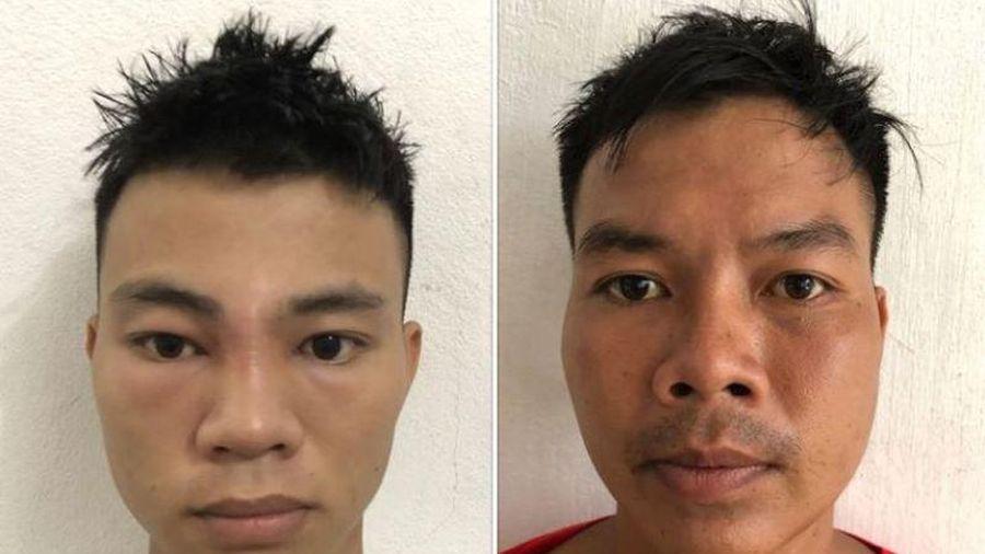 Chém công an, 2 anh em bị khởi tố