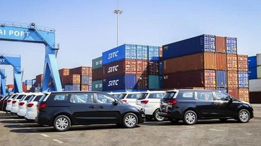 THACO xuất khẩu xe ô tô qua Thái Lan