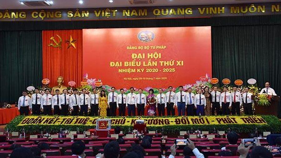 Ông Phan Chí Hiếu tái đắc cử Bí thư Đảng ủy Bộ Tư pháp nhiệm kỳ 2020-2025