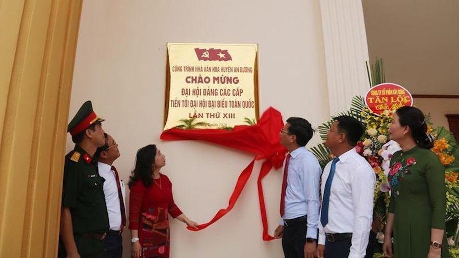Hải Phòng khánh thành Nhà văn hóa Trung tâm huyện An Dương