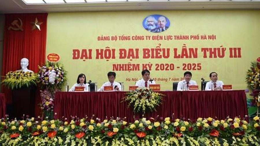 Đại hội đại biểu Đảng bộ Tổng công ty Điện lực TP Hà Nội lần thứ III, nhiệm kỳ 2020-2025