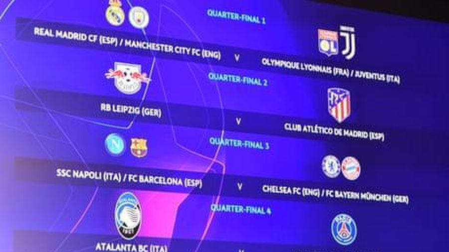 Bốc thăm Tứ kết C1: Barca, Juve gặp đối thủ khó nhằn