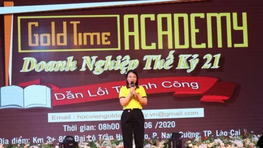 Gold Time Academy: Vinh danh các cá nhân xuất sắc của Trung tâm huấn luyện Nha Trang và Lào Cai
