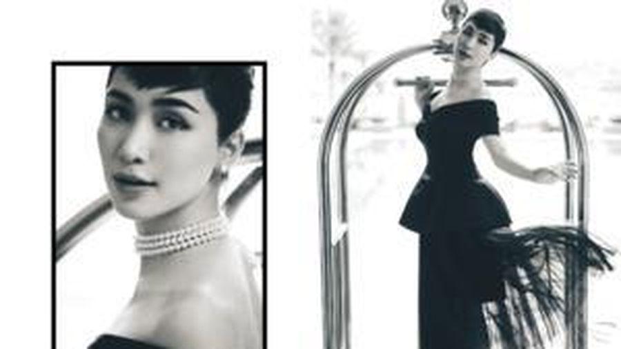 Hóa thân tượng đài nhan sắc Audrey Hepburn trong bộ ảnh mới, Hòa Minzy lại đang 'ủ mưu' gì đây?