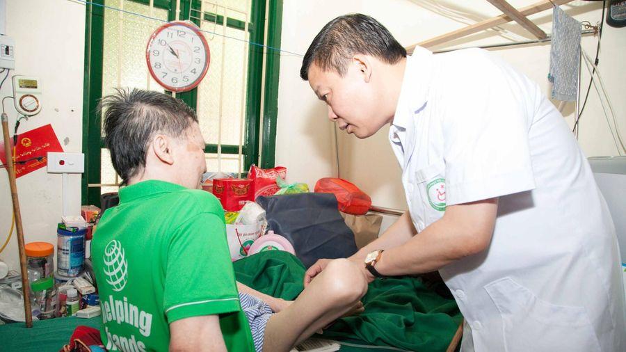 Nghĩa tình ở Trung tâm Điều dưỡng thương binh nặng Thuận Thành