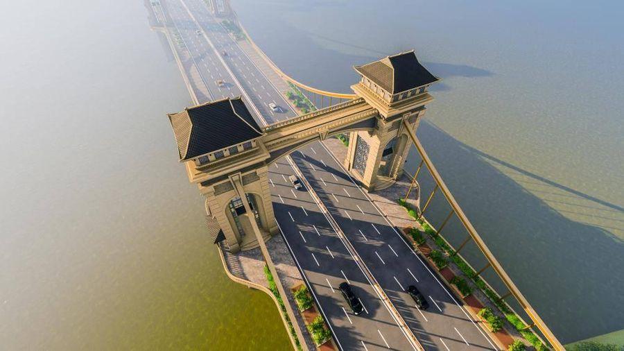 Hà Nội: Cầu Trần Hưng Đạo kết nối hai quận Hoàn Kiếm và Long Biên