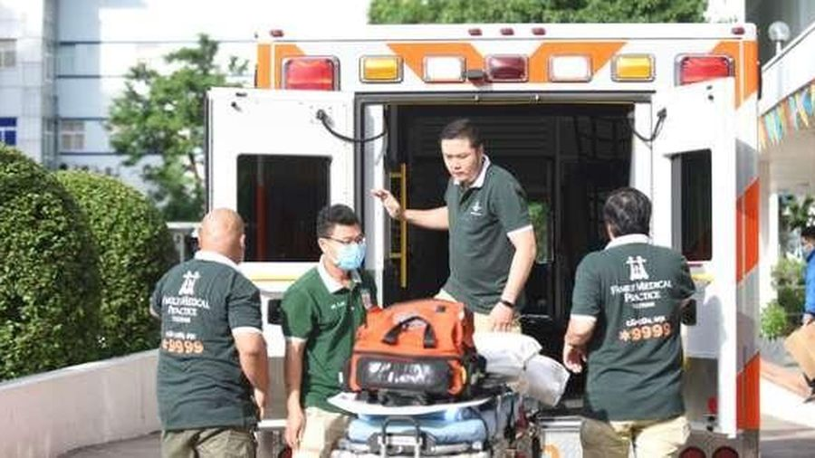 Bệnh nhân 91 phi công người Anh rời Bệnh viện Chợ Rẫy