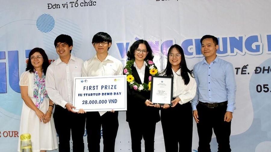 Chung kết cuộc thi khởi nghiệp 'IU Startup Demo Day 2020'
