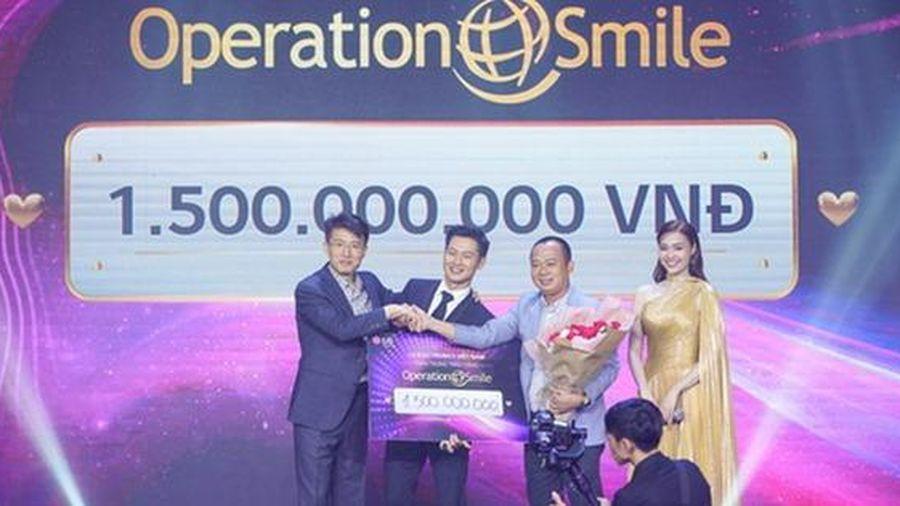 LG đấu giá TV OLED 8K dành tặng 1,5 tỷ đồng cho tổ chức 'Phẫu thuật nụ cười'