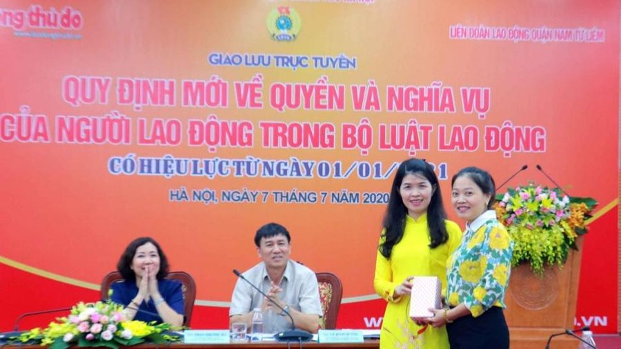 Liên đoàn Lao động quận Nam Từ Liêm: Nâng cao nhận thức pháp luật cho người lao động