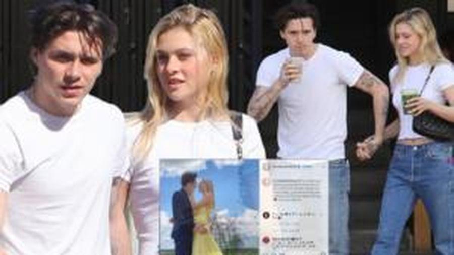 Trai đẹp Brooklyn Beckham đã trở thành 'hoa có chậu', đối phương không ai khác ngoài mỹ nữ Transformers