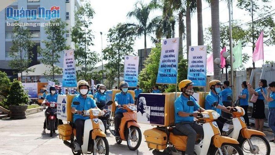 Quảng Ngãi ra quân hưởng ứng Ngày Bảo hiểm Y tế Việt Nam