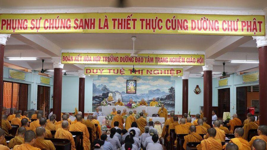 TP.HCM : BTS Phật giáo Q.Gò Vấp thăm, cúng dường trường hạ