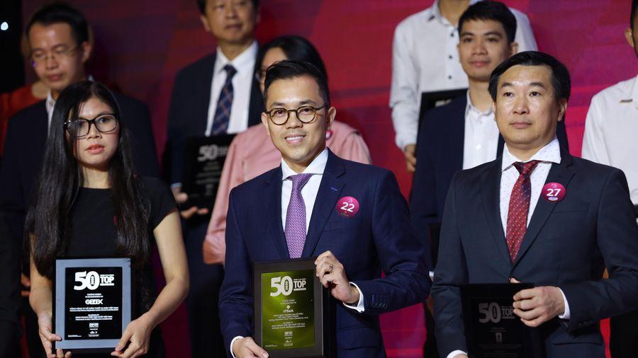 VPBank được vinh danh trong Top 50 công ty kinh doanh hiệu quả nhất Việt Nam