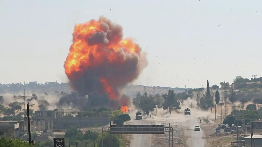 Đoàn xe tuần tra của Nga và Thổ Nhĩ Kỳ bị đánh bom ở Syria