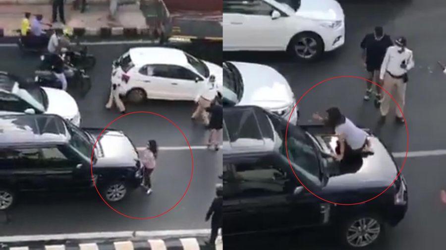 Tắc đường vì vợ chặn ôtô bắt quả tang chồng ngoại tình ở Ấn Độ