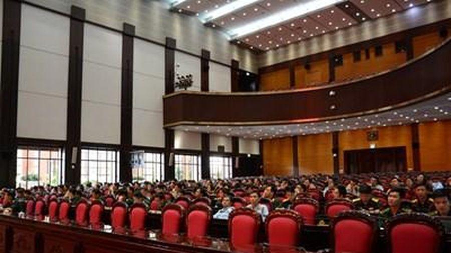 Cục Tuyên huấn, Tổng cục Chính trị bồi dưỡng báo cáo viên toàn quân tháng 7-2020