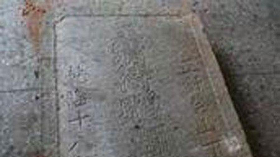 Phát hiện bia mộ thời nhà Đường tại miền Bắc Trung Quốc