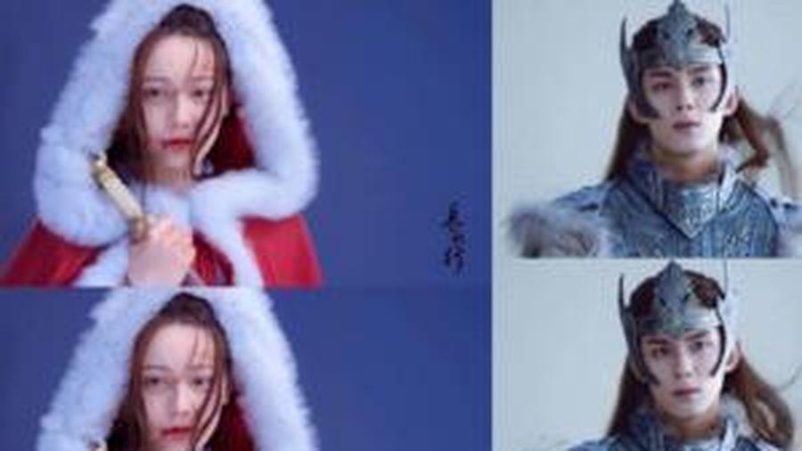 Lộ ảnh hậu trường đậm chất thần thoại của 'Trường ca hành': Địch Lệ Nhiệt Ba đẹp như cô bé quàng khăn đỏ