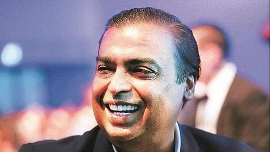 Tỷ phú giàu nhất châu Á Mukesh Ambani là người giàu thứ 6 trên thế giới