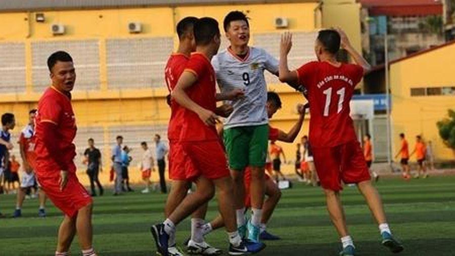Giải bóng đá tranh Cup Báo CAND: Hai ứng viên xuất sắc vào trận chung kết