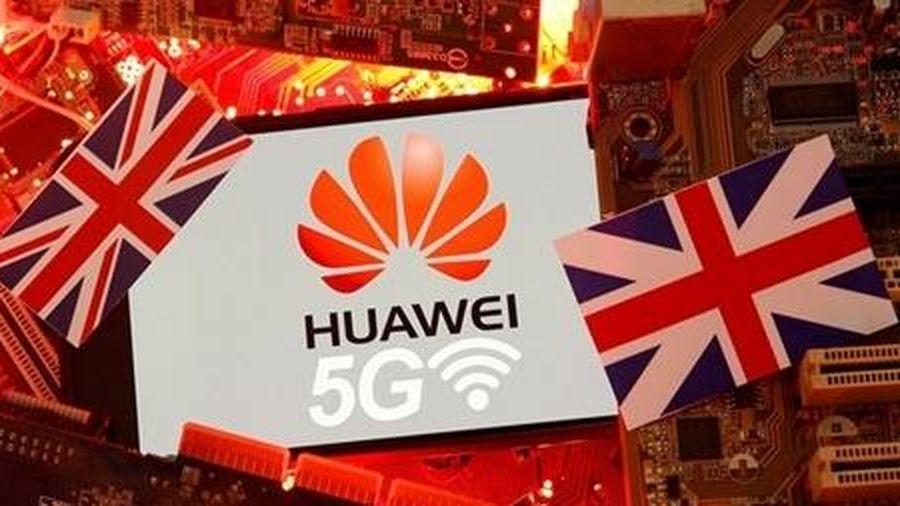 Huawei chính thức bật bãi khỏi mạng 5G tại Anh