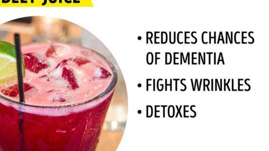 11 loại đồ uống giúp bạn 'hãm phanh' quá trình lão hóa