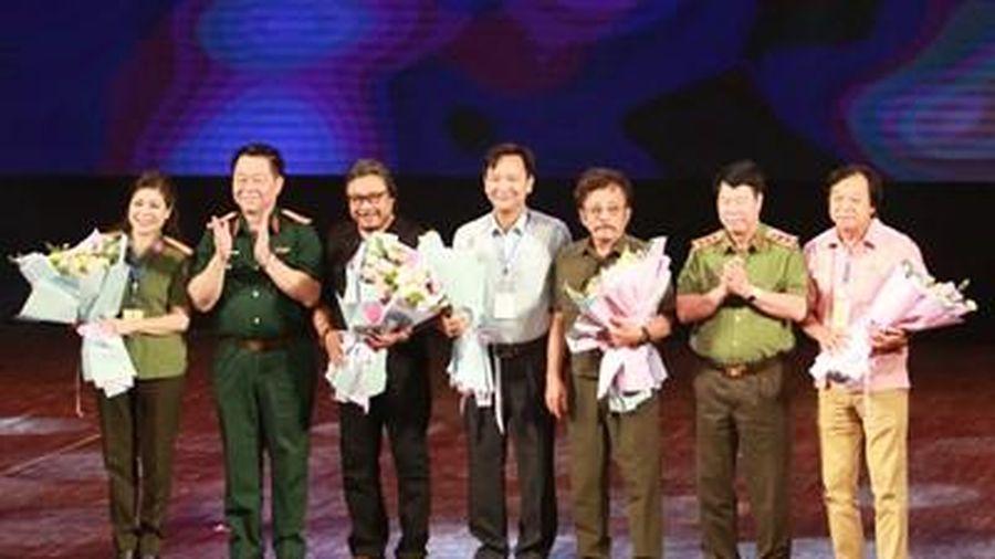 Khai mạc Liên hoan sân khấu 'Hình tượng người chiến sĩ Công an nhân dân' năm 2020