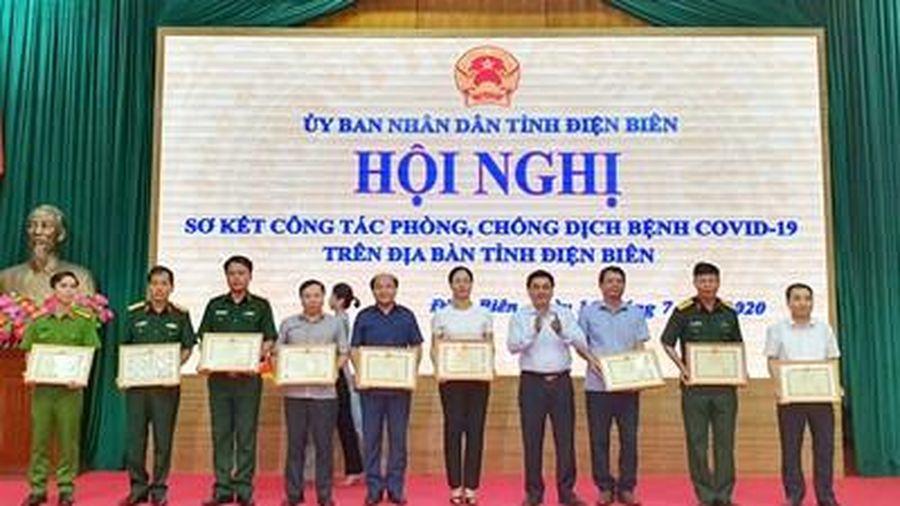 UBND tỉnh Điện Biên sơ kết công tác phòng, chống dịch bệnh Covid-19