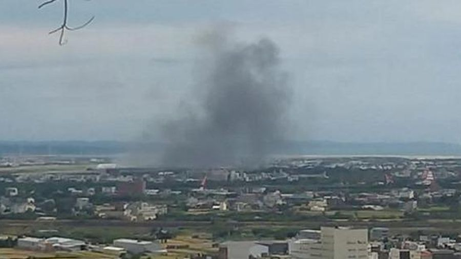 Trực thăng Đài Loan gặp nạn khi hạ cánh, 2 phi công thiệt mạng